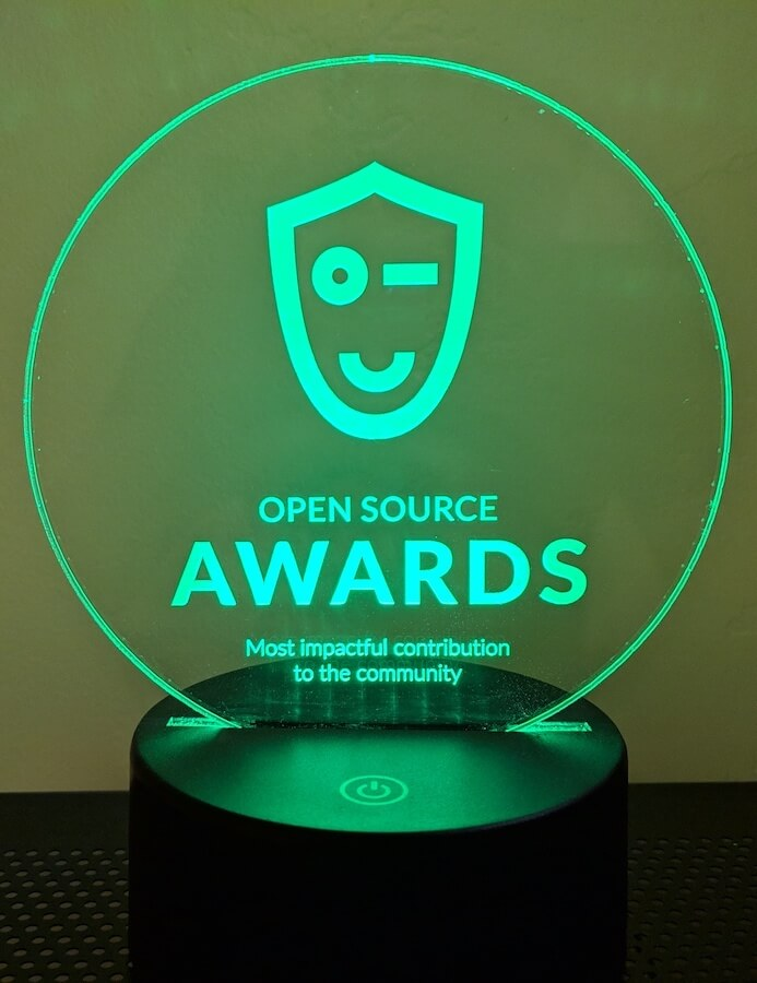 Open Source Awards award